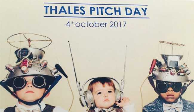 THALES PITCH DAY