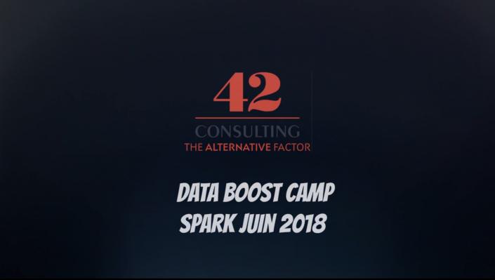 événement 42 consulting avec la data boost camp