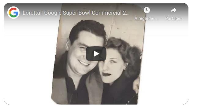 Exemple de film Google Loretta