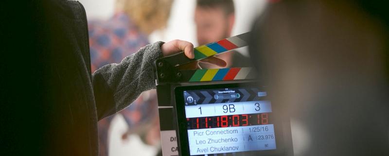 organiser un plateau de tournage